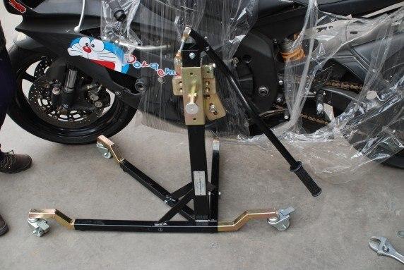 Moto support central paddock ascenseur pour Yamaha Honda BMW DUCATI contactez-nous pour adaptateur avant d'acheter - 3