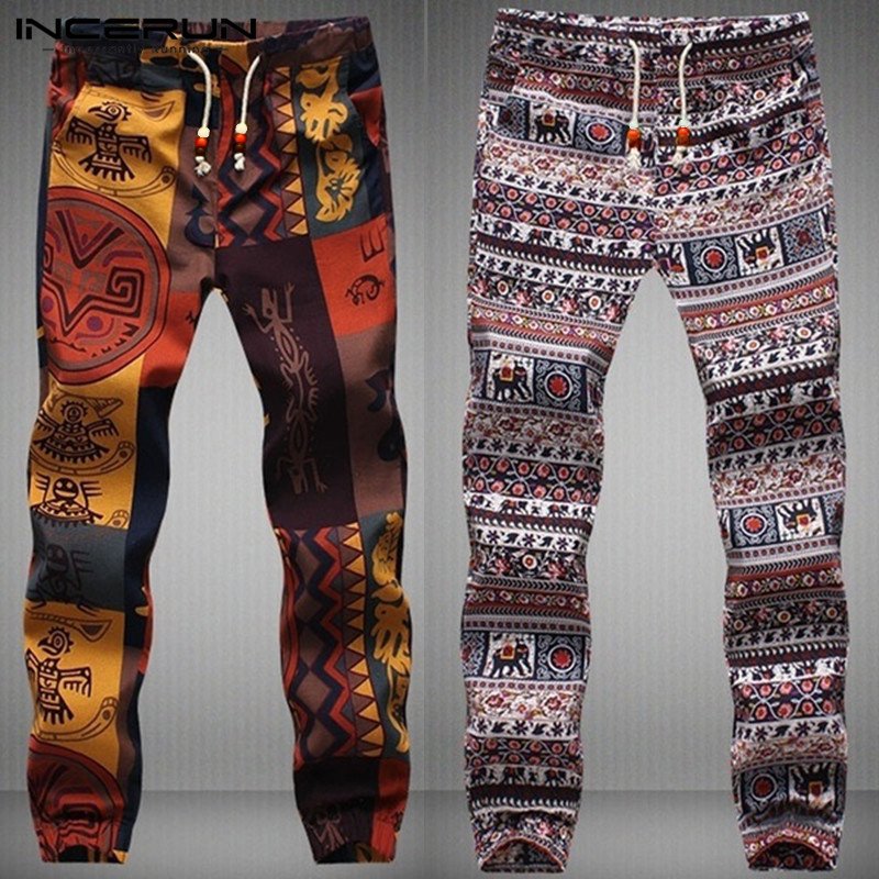 NEW Ethnic Aladdin Men Harem Pants Hiphop Harajuku Bottom Trousers Joggers Crossfit Pants Femininas Hombre Pantalon Sweatpants