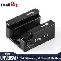 SmallRig DSLR Camera Rig Cold Shoe Mount Adapter with Anti-off Button For Microphone Flash Light Monitor Attach 2260