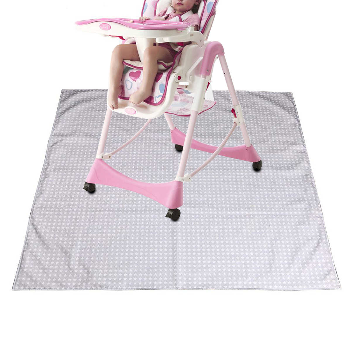 Baby High Chair Floor Mat Protector