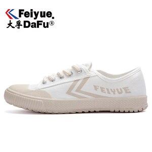 Image 1 - Dafufeiyue Canvas Schoenen Vintage Gevulkaniseerd Mannen En Vrouwen Mode Nieuwe Sneakers Comfortabele Antislip Duurzaam Schoenen 794
