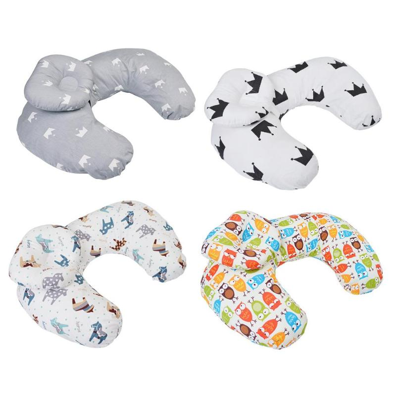Baby U-Shaped Breastfeeding Pillow Drop Shipping Baby Nursing Pillows Maternity Infant Cuddle Cotton Feeding Waist Cushion