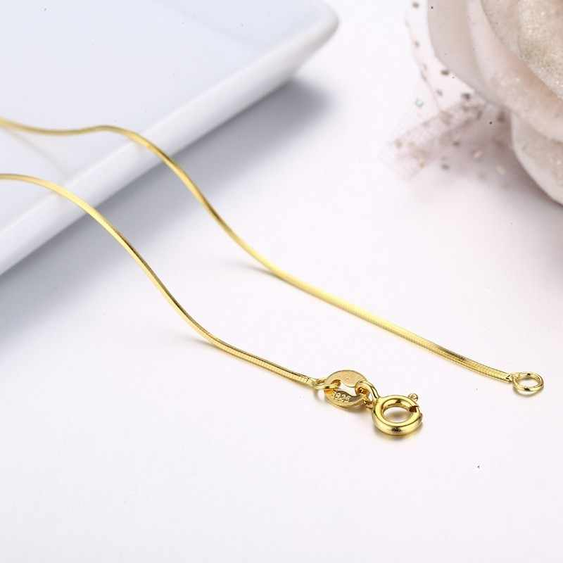 collier argent 35 cm