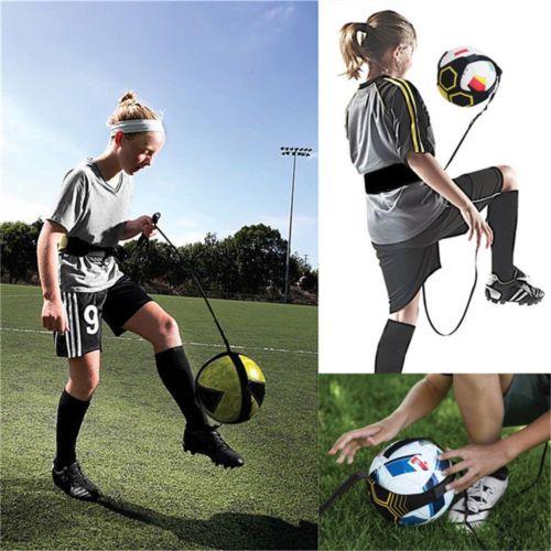 Soccer Kick Trainer Football Practice Equipment Training Soccer Ball Adjustable Head Bag Storage Bags