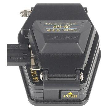 Волоконный Кливер AUA-6C нож для резки проводов FTTT волоконно-оптический нож инструменты резак высокая точность отправить shatter-resista