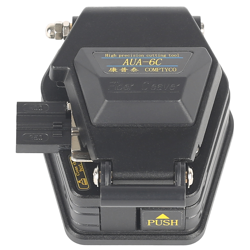 De fibra cleaver AUA-6C de corte de cable cuchillo FTTT de fibra óptica herramientas cuchillo cortador de alta precisión enviar romper-resista