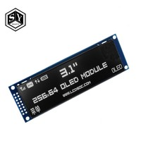 GREAT IT Real OLED Display 3.12 256*64 25664 Dots Graphic LCD Module Display Screen LCM Screen SSD1322 Controller Support SPI