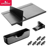 SMABEE Center Console Organizer Glove Box For Mazda CX 5 2018 2019 Storage Organizers Hierarchical Glasses Storage space BLACK