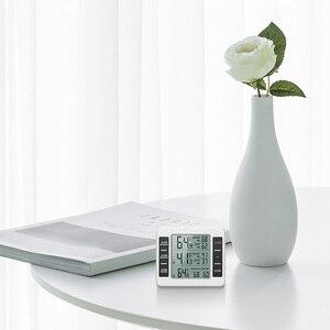Image 3 - ميزان حرارة الثلاجة الرقمية الفريزر ميزان الحرارة مع مراقبة درجة الحرارة في الأماكن المغلقة 2 أجهزة الاستشعار اللاسلكية الثلاجة إنذار مسموع