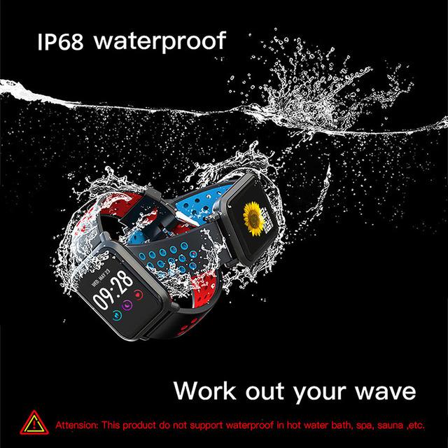 COLMI Smartwatch S9 2.5D Screen Gorilla Glass Blood oxygen Blood pressure BRIM IP68 Waterproof Activity Tracker Smart Watch