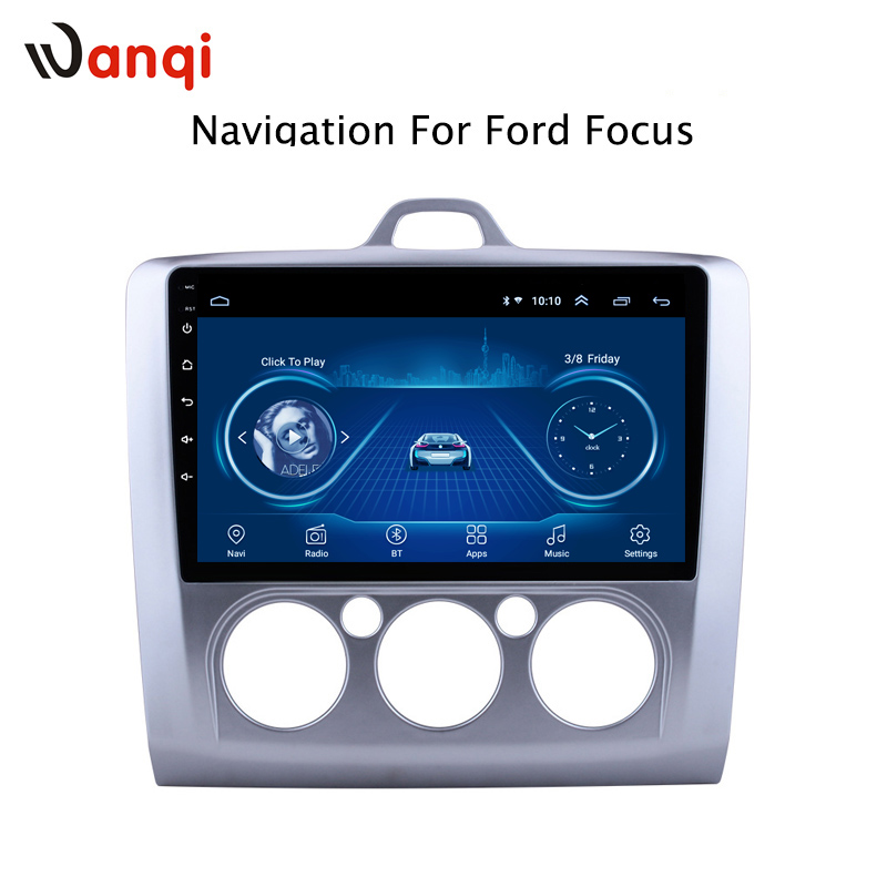 Hot Sale 9 Inch Android 8.1 Car Dvd Gps Player For Ford Focus 2006-2014 built-in Radio Video Navigation Bt WifiHot Sale 9 Inch Android 8.1 Car Dvd Gps Player For Ford Focus 2006-2014 built-in Radio Video Navigation Bt Wifi