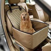 2 In 1 Dual Use Pet Seat Cover Front Car Cushion Waterproof Mat Booster Deluxe For Dog Cat