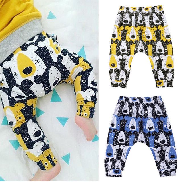 Baby Boys Girl Clothes Bear Harem Pants Trousers Toddler Bottom Baby Pants Legging