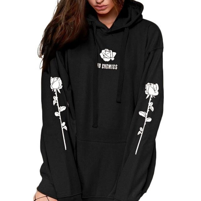 Rose Pattern Sweatshirt Unisex Tumblr Hispter Pullover