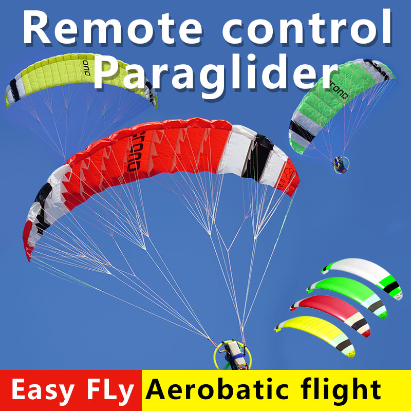 high quality electric remote control paraglider RC mini wireless remote control parachute 1 48M 2 6M