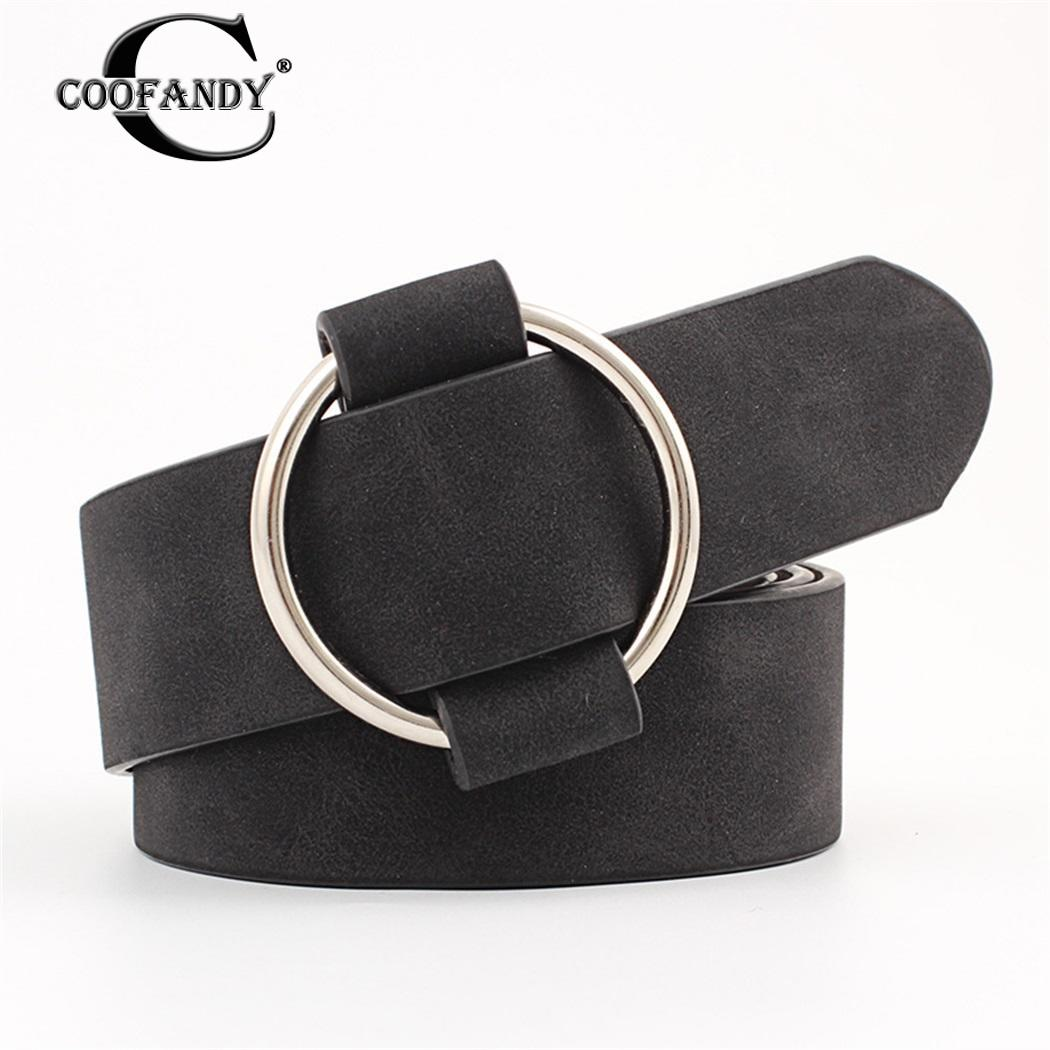 womens designer round casual ladies   belts   for jeans Modeling   belts   without buckles leather   belt   Gifts