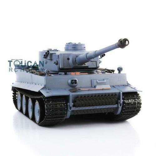 2,4 Ghz Henglong 1/16 escala 6,0 sistema de combate infrarrojo plástico Ver Tigre alemán I RTR RC tanque 3818 modelo TH12437-in Tanques RC from Juguetes y pasatiempos    3