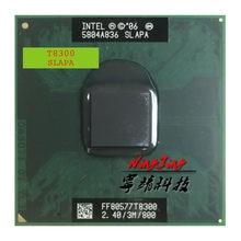 Intel core 2 duo t8300 sapa slayq 2.4 ghz processador de cpu de dupla linha de núcleo 3 m 35 w soquete p