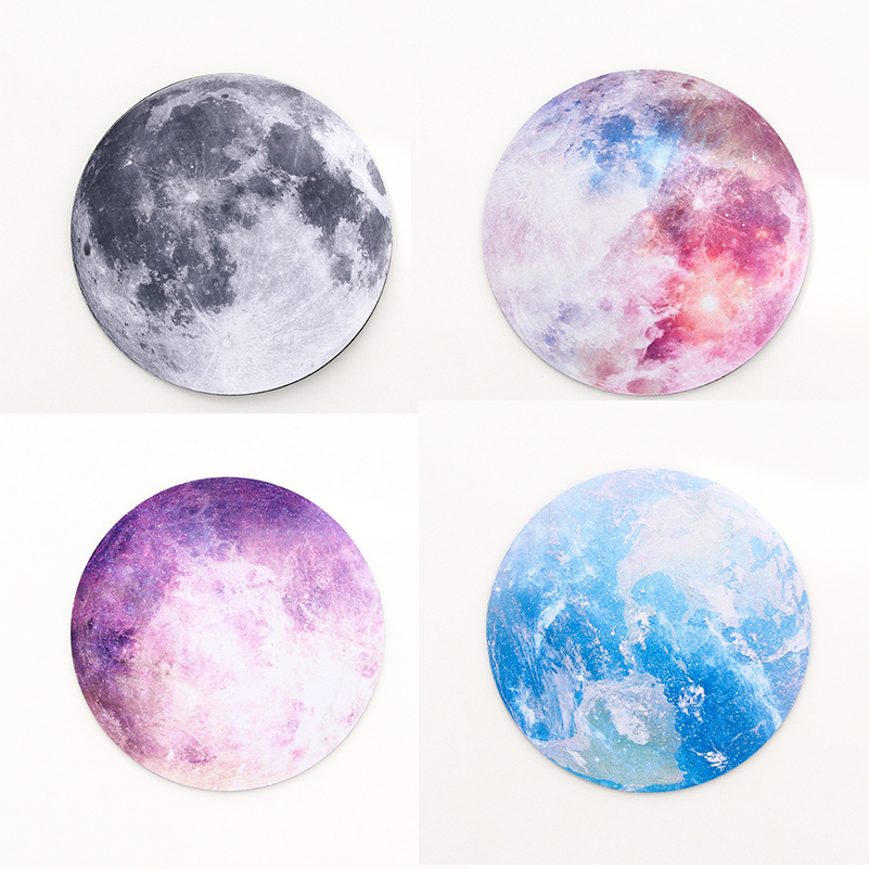 Moon Earth Desk Mat Office Desk Organizer School Supplies High Quality Moon Mouse Desk Tools Office Desk Accessories Set