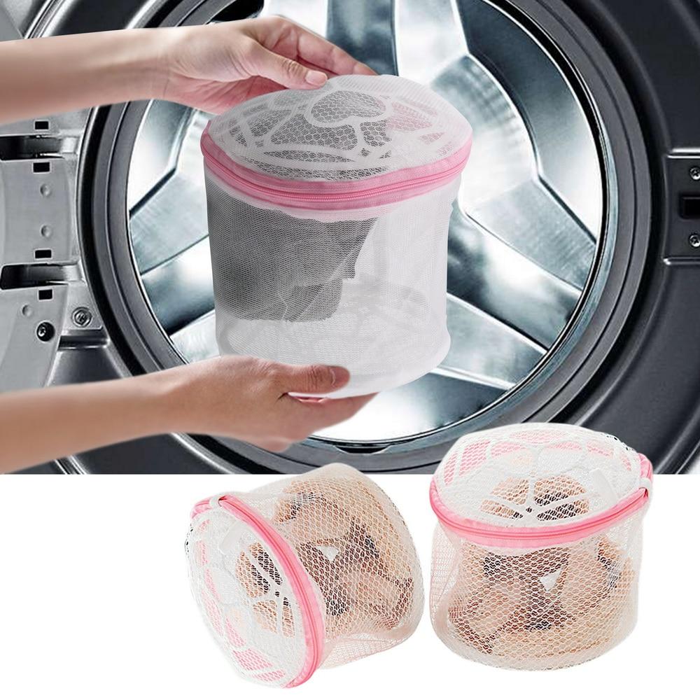 Pop Laundry Bags Bra Stocking Washing Case Durable Underwear Mesh Pouch 6PCS//Set