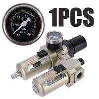 AC3010 03 Oil Water Regulator Air Compressor Regulators Oil Lubricator Water Separator Trap Filter Gauge