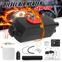 Car Heater 5KW 12V Diesels Air Parking Heater Vehicle 4 Holes Heater Fan for SUV Truck Boat Van MotorHome with Exhaust Silencer