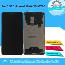 M & Sen pantalla LCD Original probada de 6,53 pulgadas para Huawei Mate 20 + Digitalizador de Panel táctil para Huawei Mate20 MT20, 2244x1080