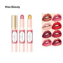 KISSBEAUTY Lipbalm Makeup Long Lasting Moisturizer Waterproof Lipstick Women Fashion Cosmetic Wholesale