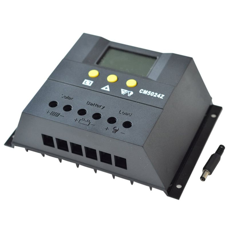 50A Pwm Charge Controller Solar Charger Battery Regulator Solar Charge Controller 12V / 24V50A Pwm Charge Controller Solar Charger Battery Regulator Solar Charge Controller 12V / 24V