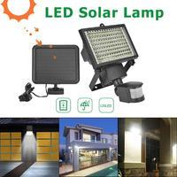 120 LED Solar Light Motion Sensor IP65 Outdoor Spotlight Safety Flood Lamp