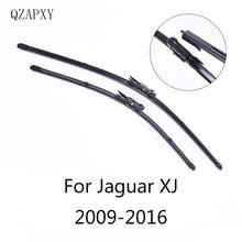 QZAPXY Стеклоочистители Лезвия для Jaguar XJ(X351) от 2009 2010 2011 2012 0213 стеклоочиститель аксессуаров для автомобилей