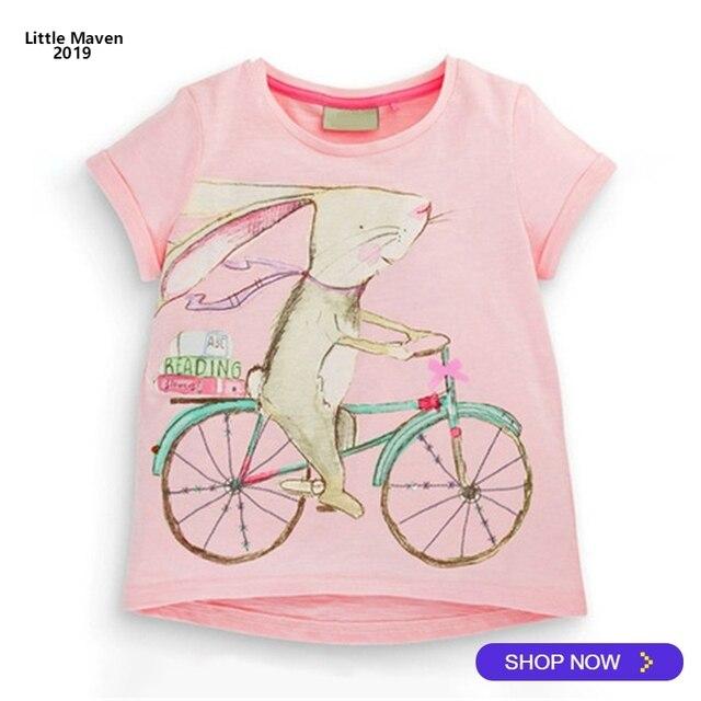 5e2c6207e 2019 Little Maven Brand Summer 2 7 year baby Kids Girls rabbit ride ...