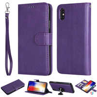 Detachable 2 In 1 Case For Iphone XS Max 5S SE 6S 7 8 Plus X XR Magnetic Cover For Samsung Galaxy S3 S4 S5 S6 S7 Edge S8 S9 Plus