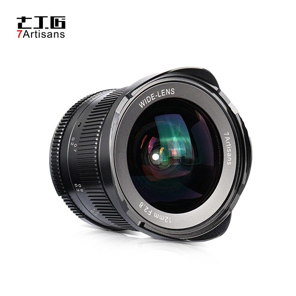 Andoer 12mm F2 8 Wide Prime Lens Manual Focus Large Aperture for Canon EOS M Mount