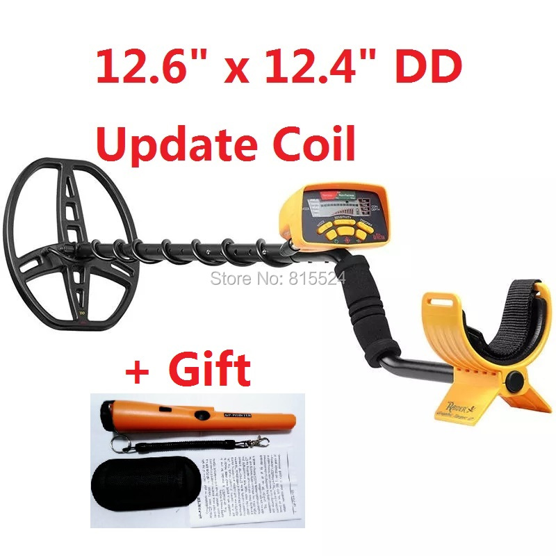 Hot Sale Gold Detector MD6350 Underground Metal Detector Coin Metal Treasure Hunting Tool With LCD Display Gift GP-POINTER