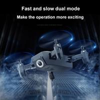 3D rollover mode folding aircraft gesture camera mini drone fixed high speed transmission remote control aircraft App control