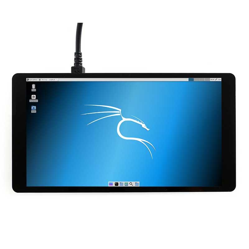 Raspberry Pi LCD AMOLED 5.5 cal 1080 P 5 cal HDMI pojemnościowy ekran dotykowy dla Raspberry Pi 4B 3B + 2B + w Tablice demonstracyjne od Komputer i biuro na AliExpress - 11.11_Double 11Singles' Day 1