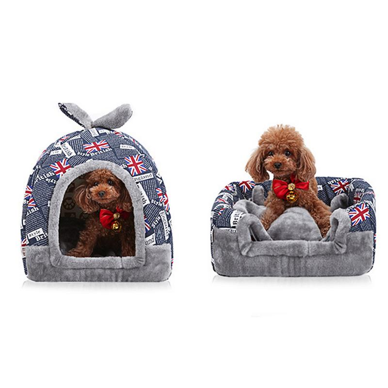 Winter Warm Pet House Removable And Washable Portable Indoor Dog Cat Sleeping House Igloo Pet House image