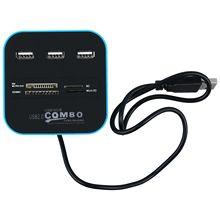 3 High Speed Port USB 2.0 USB Splitter Adapter for Notebook/Tablet