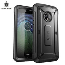Case Voor Moto G6 Plus Supcase Ub Pro Full Body Robuuste Holster Cover Met Ingebouwde Screen Protector Voor Moto g6 Plus Case