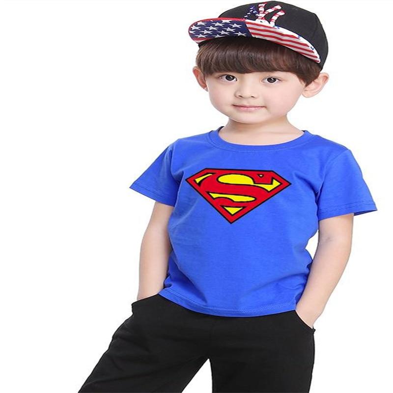 T-Shirt Tops Short-Sleeve Toddler Girl Baby-Boys Cartoon Blouse 2-7-Year Summer