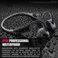 ALLOYSEED BH128 Bluetooth 5.0 Wireless Headphones Bone Conduction Earphones with Mic Handsfree Auriculares Bluetooth