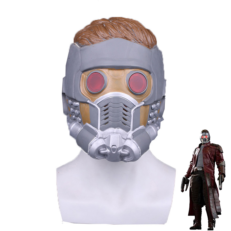 Guardians of the Galaxy Star Lord Latex Helmet Cosplay Props Mask