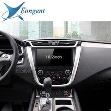 """Fongent 10,"""" Ips Android 9,0 автомобильный мультимедийный плеер сенсорный экран для Nissan Murano Z52 авторадио радио стерео gps"""