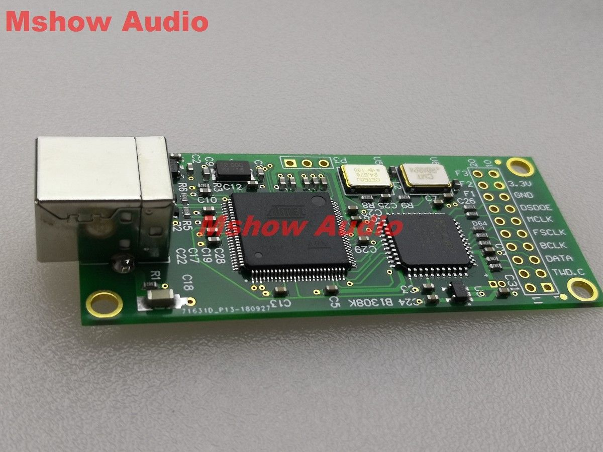SS Amanero digital USB interface USB para conversor USB DSD I2S CPLD 384 k DSD512