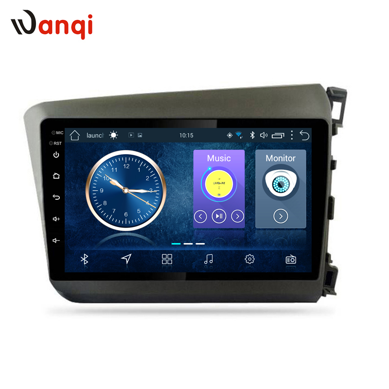 9 inch android 8.1 car multimedia gps navigation system for Honda civic 2012-2015 right hand drive support SWC RDS9 inch android 8.1 car multimedia gps navigation system for Honda civic 2012-2015 right hand drive support SWC RDS