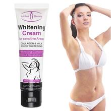 XY Fancy 50G Whitening Cream for Dark Skin Armpit Elbow Lightening Bikini Underarm Thigh