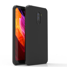 Armor Case For Xiaomi Pocophone F1 Case Silicone Slim Business Matte Soft TPU Case For POCO F1 Global Version Cover Shockproof все цены