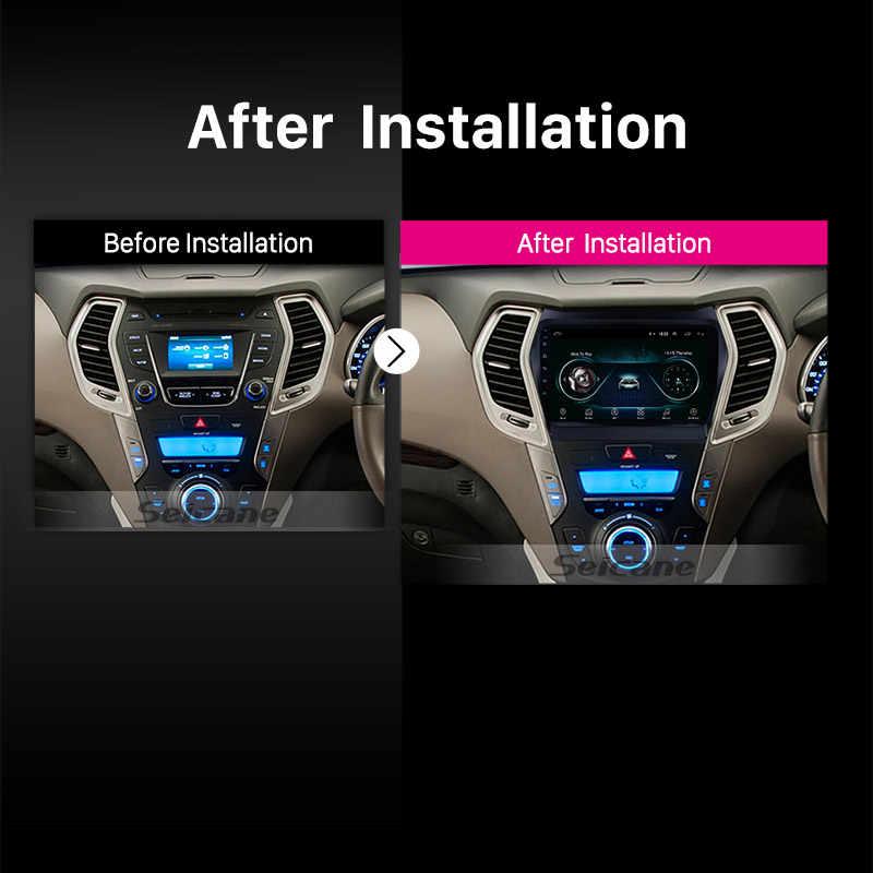 Seicane سيارة GPS مشغل وسائط متعددة راديو ل 2013 2014 2015 2016 2017 هيونداي IX45 سانتافي 9 بوصة الروبوت 8.1 2Din رئيس وحدة