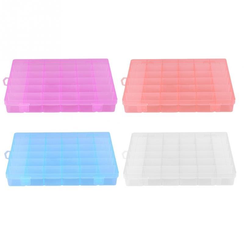 Storage-Box Detachable-Organizer Jewelry Nail-Art-Accessory Diamond Plastic Case Painting